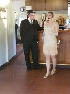 Johnny Maine (Kelvin Hatle) and Missy Cheetum (Angela Fox)